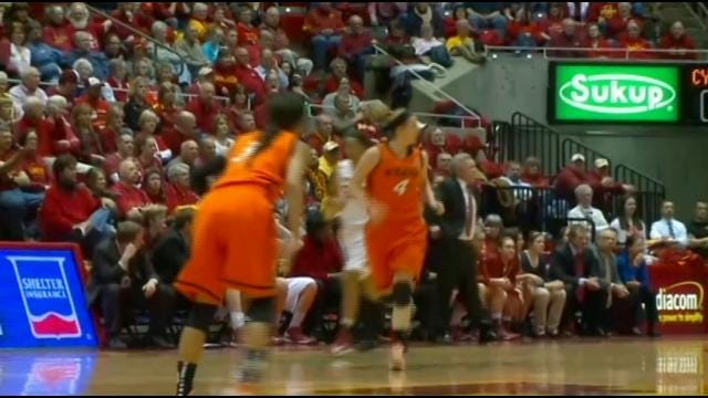 Cowgirls Fall To Cyclones 73-70