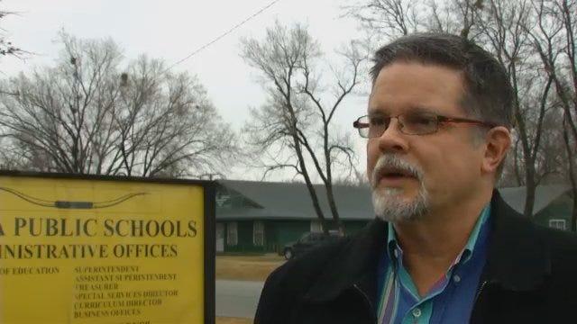 WEB EXTRA: Inola School Superintendent Kent Holbrook Talks About Water Break