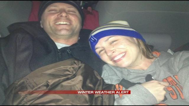 Tulsa Couple Stuck On I-40 Since 6:30 AM