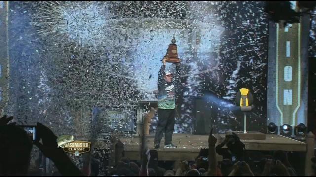What It Takes To Be The Bassmaster Classic Champion