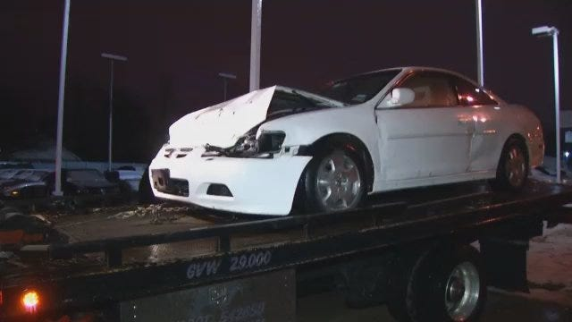 WEB EXTRA: Video From Scene Of Crash At 11th Street And Sandusky