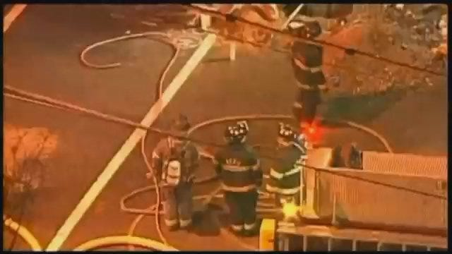 WEB EXTRA: Video From Scene Of Kansas City Restaurant Fire [CBS]