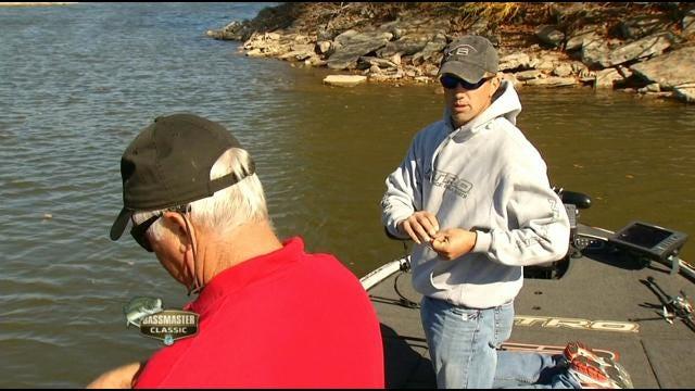 Talala Pro-Fisherman Edwin Evers Goes Fishing With Dick Faurot