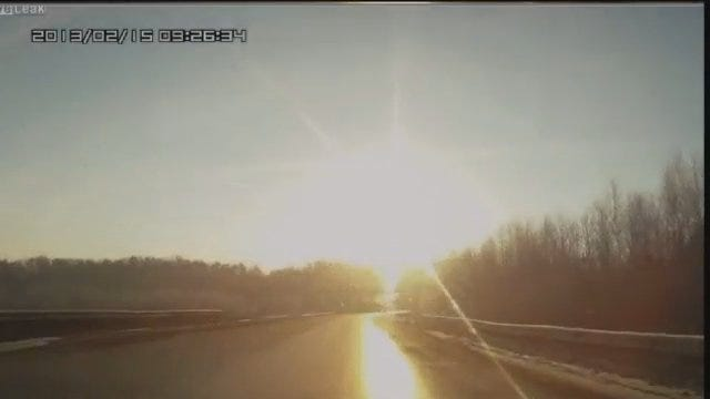WEB EXTRA: Video From Russia Of Meteor