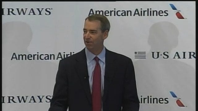WEB EXTRA: American CEO Tom Horton's Statement At Thursday's News Conference