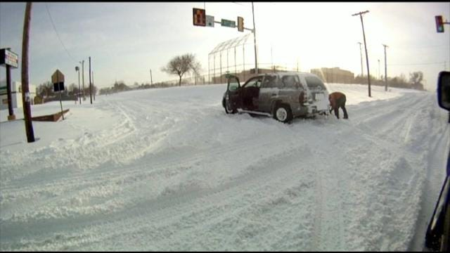 City Of Tulsa Better Prepared For Snow-Slick Streets After Mild Winters