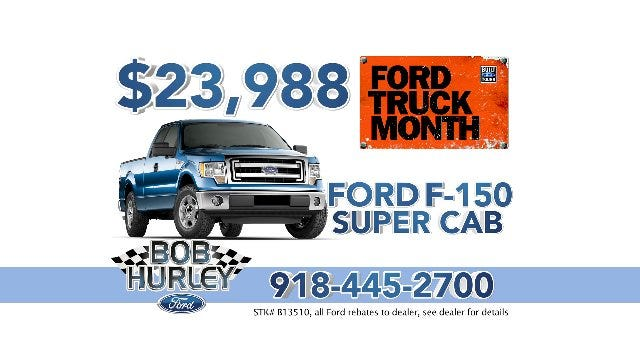 Bob Hurley Ford: Truck Month