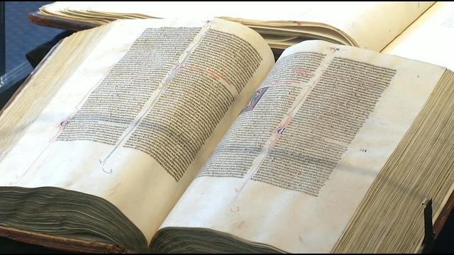 Rare Biblical Items On Display At Oral Roberts University
