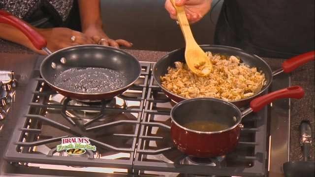 Spicy Pork Enchiladas