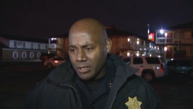 WEB EXTRA: Tulsa Police Captain Wendell Franklin Talks About TPD Vice Squad Operation