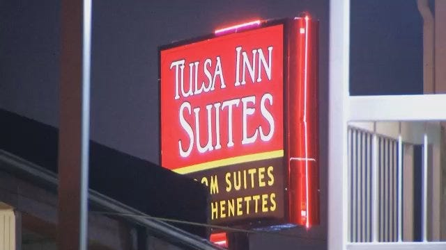WEB EXTRA: Video From Scene Of Prostitution Bust At Tulsa Motel