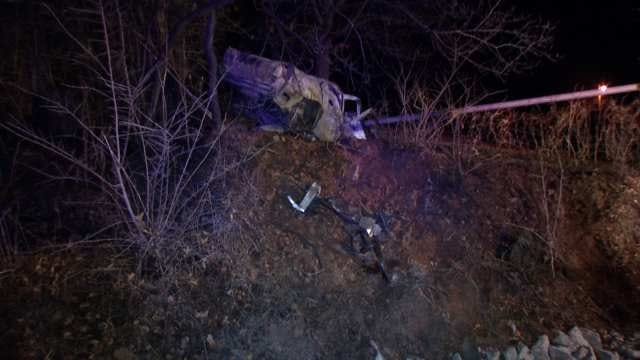 WEB EXTRA: Video From Scene Of Fatal Rogers County Crash