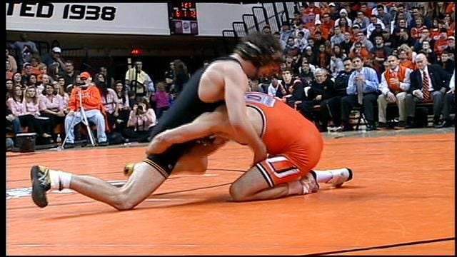 Pressure To Remain On Top Fueling Cowboy Wrestling