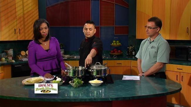 Jose's Chicken Enchiladas with Salsa Verde