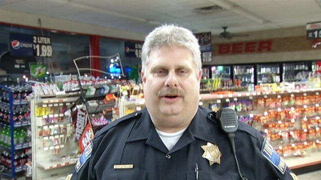 WEB EXTRA: Tulsa Police Cpl. Dan Miller Talks About Convenience Store Burglary Attempt