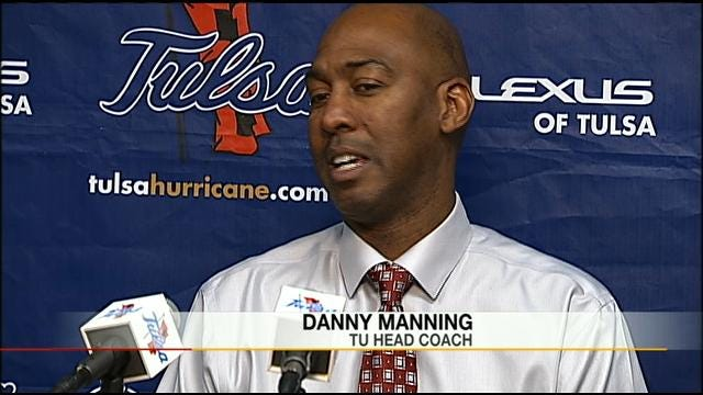 Manning Getting Used To Head Coaching Gig At TU