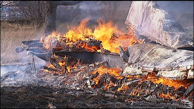 Fire Destroys Four Mobile Homes In Sapulpa
