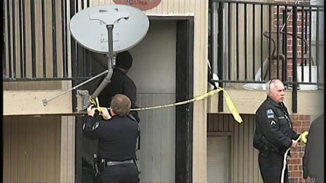 WEB EXTRA: Video From Scene Of South Tulsa Apartment Fatal Shooting Of 4 Women
