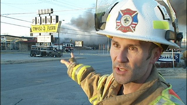 WEB EXTRA: Interview With Owasso Fire's Shane Atwell