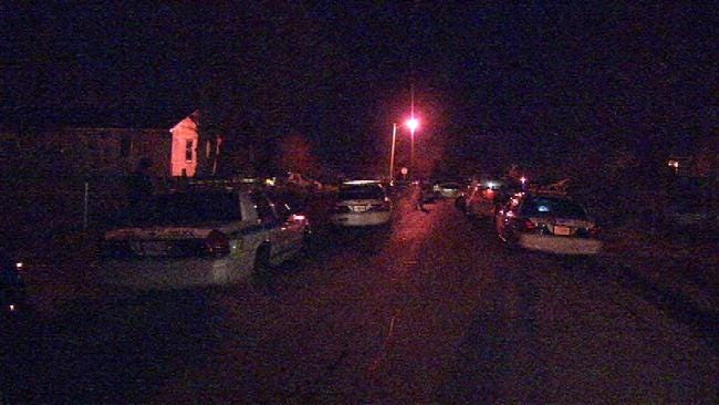 WEB EXTRA: Video From Scene Of Shooting On North Garrison In Tulsa