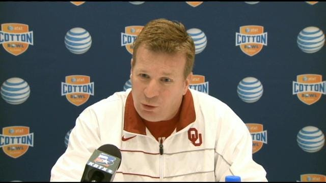 Mike Stoops Preparing OU Defense For Johnny Football