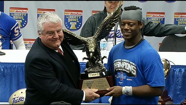 Trey Watts Proud To Share Bowl MVP With Teammates