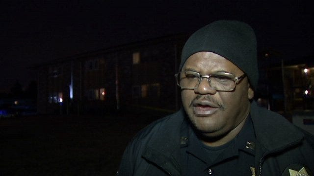 WEB EXTRA: Tulsa Police Captain Mike Williams Talks About Shooting