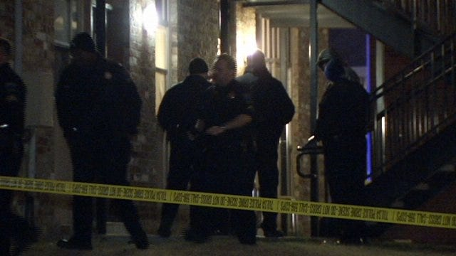 WEB EXTRA: Video From Scene Of East Tulsa Shooting At Apartment Complex