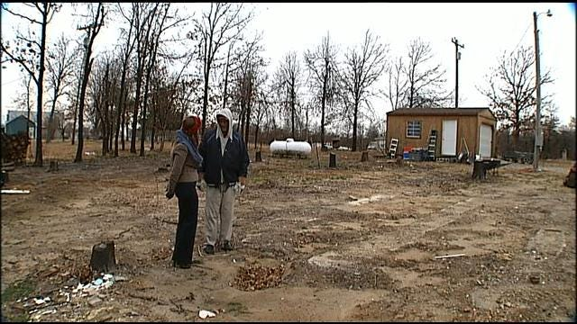 Months Later, Creek County Wildfire Victims Take Shelter In Temporary Housing
