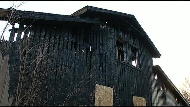 Owasso Family Talks About Chrismas Eve Fire That Started In Neighbor's Chimney
