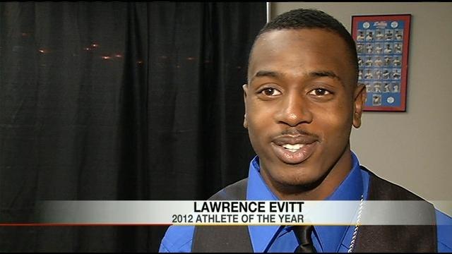 Evitt Named Athlete Of The Year