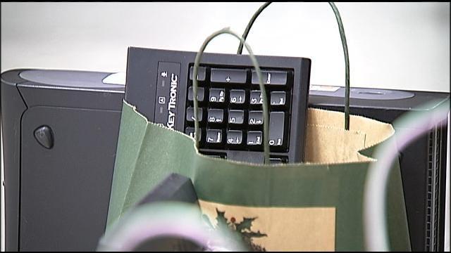 Tulsa Police Deliver 75 Computers To Needy Students