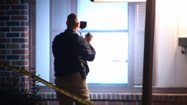 WEB EXTRA: Video From Scene West Tulsa Shooting Early Tuesday