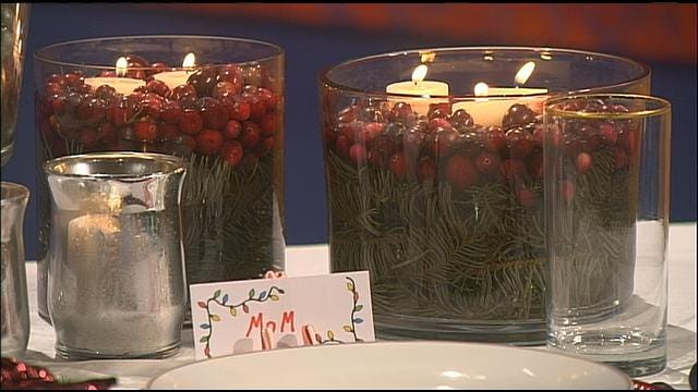 Money Saving Queen: Creative And Cheap Holiday Touches For The Table
