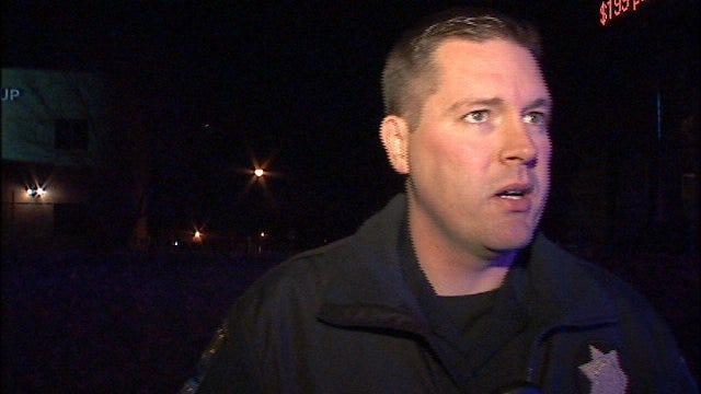 WEB EXTRA: Tulsa Police Cpl. Andrew Mackenzie Talks About Crash