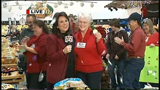 Six In The Morning, Reasor's, And Frito Lay Grocery Giveaway Winner
