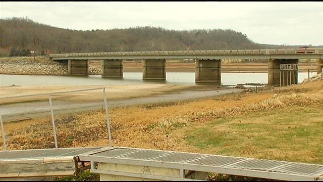 Record High Temps, Drought Drying Out Oklahoma Lakes