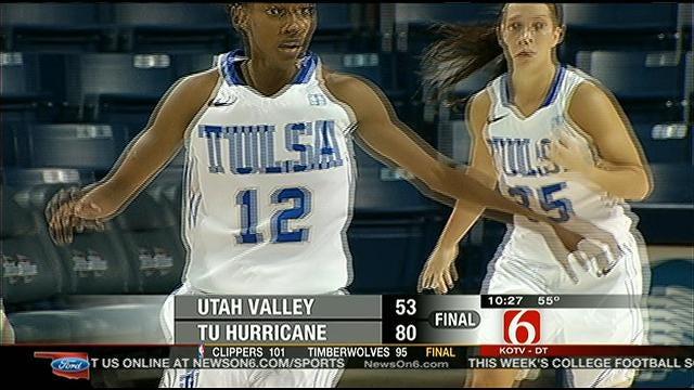 Highlights From TU Vs. Utah Valley