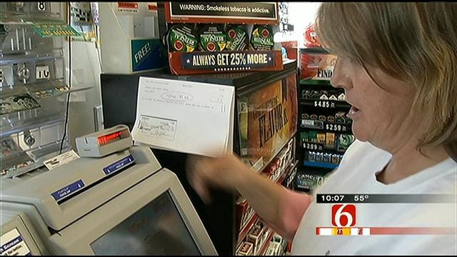 $1 Million Lottery Ticket Sold In Collinsville Gas Station