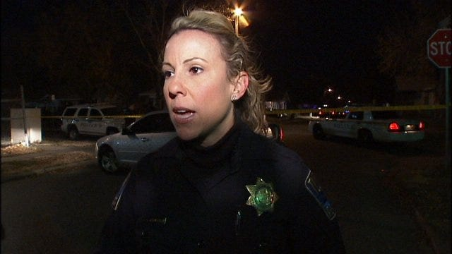 WEB EXTRA: Tulsa Police Officer Jillian Roberson Talks About Officer Involved Shooting