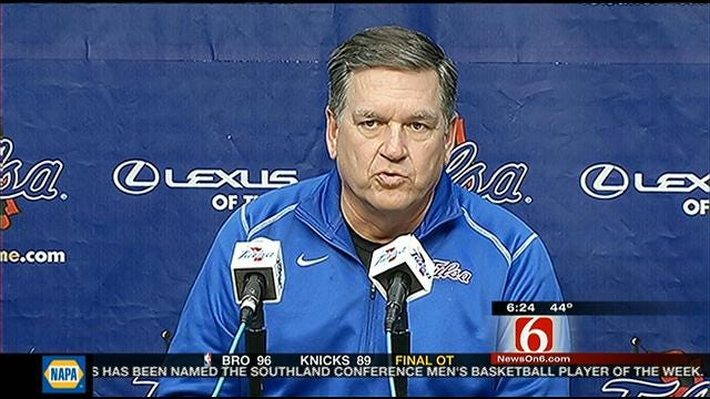 Tulsa Preparing For Rematch With UCF