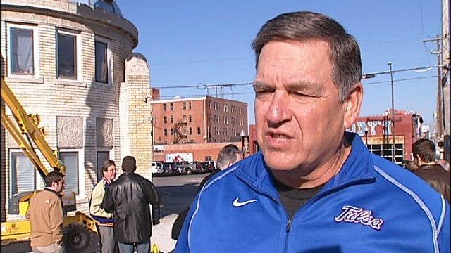 WEB EXTRA: University Of Tulsa Football Coach Bill Blankenship Talks About City Of Tulsa Support