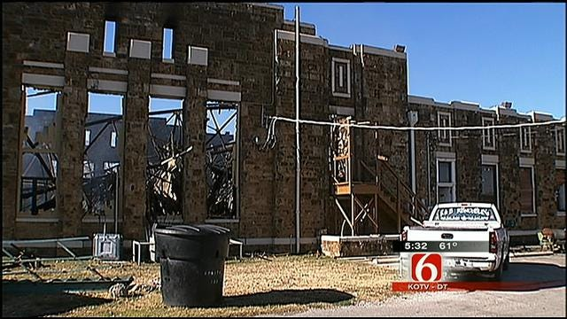 Historic Vinita Building Goes Up In Flames