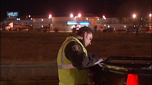 WEB EXTRA: Video From Scene Of TCSO Checkpoints
