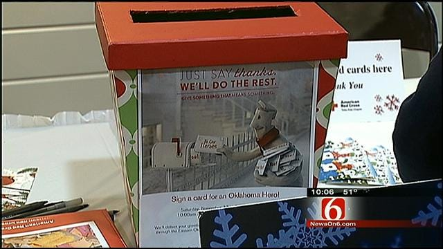 Red Cross Heads Up Holiday Mail For Heroes