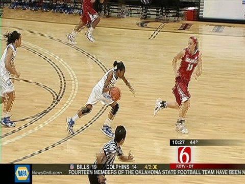 TU Women Fall To Arkansas 64-56