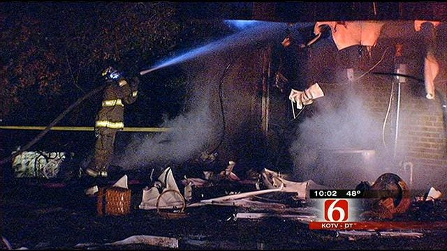 Neighbors Grateful For Bravery Of Mannford Man In Apartment Fire