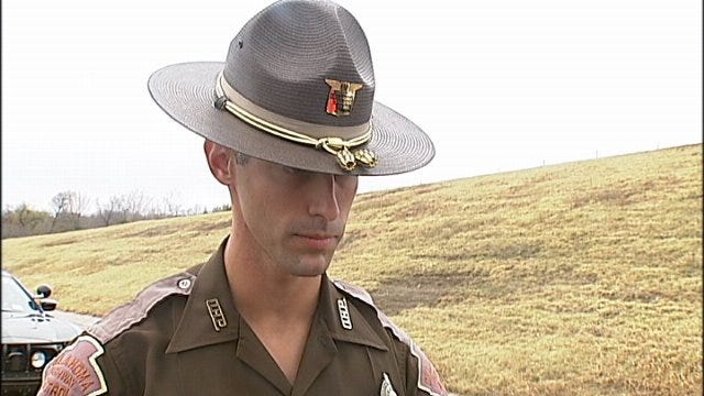 WEB EXTRA: Trooper Talks About Triple-Fatal Wreck Near Sapulpa, Pt. 1