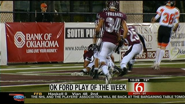 Playoff Week One Play Of The Week
