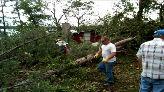 Oklahoma Volunteers Stay In Flood-Stricken New Jersey Through Second Storm